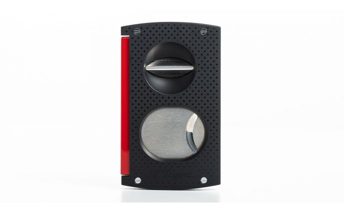S.T.Dupont Cigar Cutter Black and Red